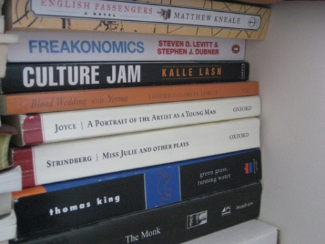 Freakonomics and Culture Jam were eye-openers. James Joyce is a poet!