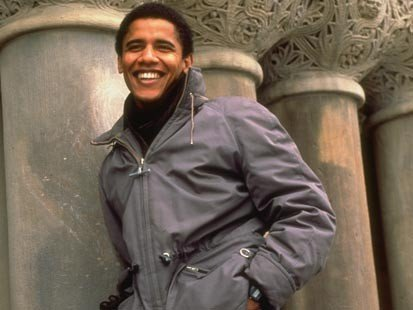 Young Barack.